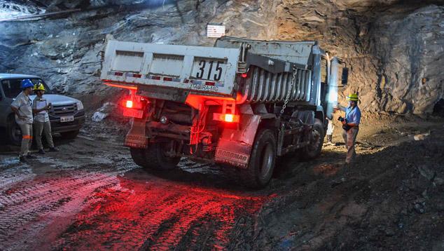 Belmont Underground Mine, Brazil