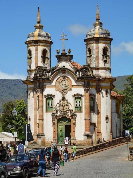 欧鲁普雷图,巴西