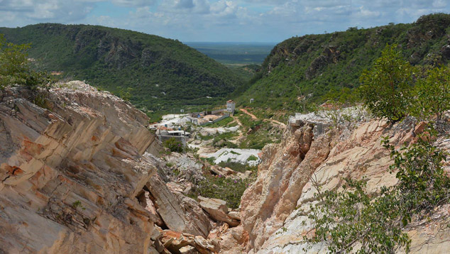 Morro Alto(摩罗·奥拓),Barbosa(巴尔博萨)矿,帕拉伊巴,巴西