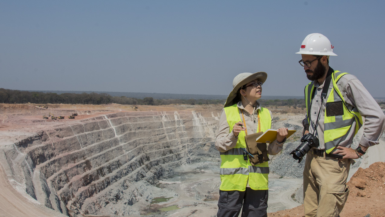 A Visit to the Kagem Open-pit Emerald Mine in Zambia