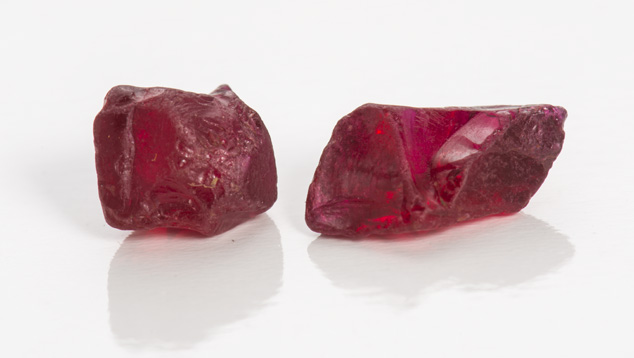 Ruby Rough Samples