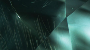 高温高压法生长的合成钻石