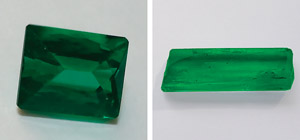 Study sample emeralds