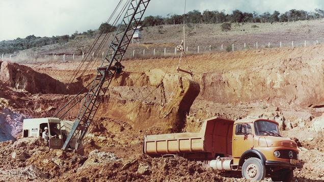 Dragline Mining
