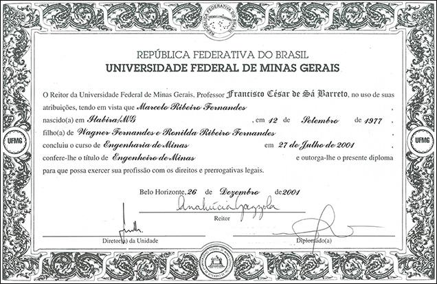 Marcelo's Diploma