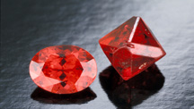 Vivid Red Spinel