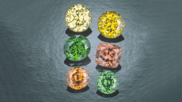 Various Zircon Colors