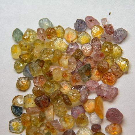 Fancy sapphire