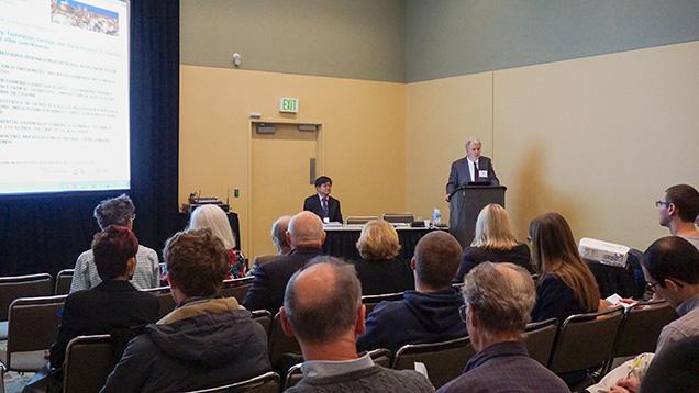Gemology presentation at the 2015 GSA meeting