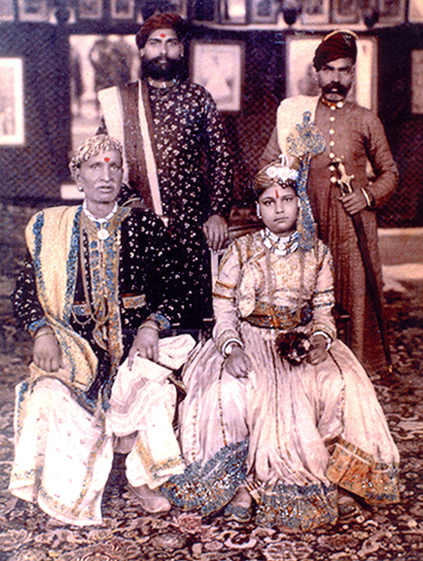 Historic maharaja photo