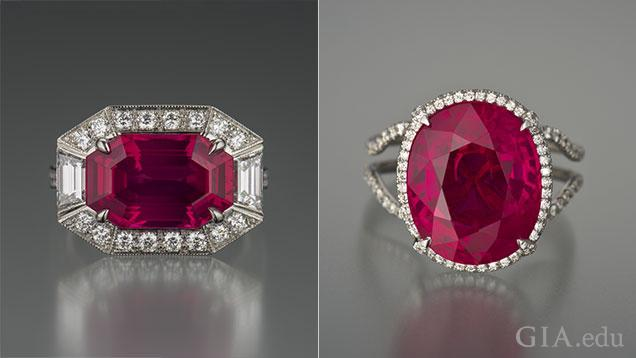 Red spinel, Burma ruby