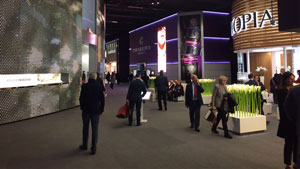 Attendees walk the halls of Baselworld 2016