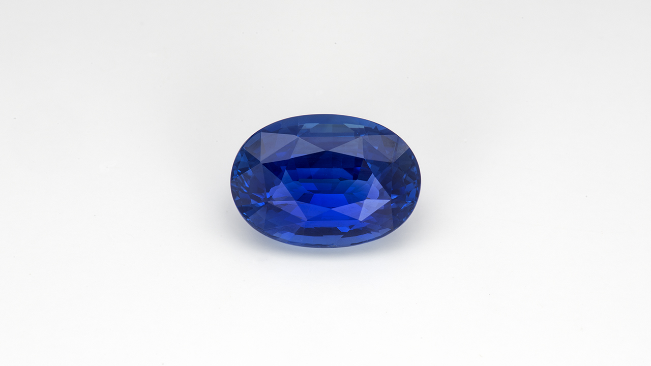 Sapphires like this 15.92 ct. example is from Madagascar, a relatively new source for high quality sapphires and often difficult to distinguish from well-known sources such as Sri Lanka. Courtesy of Nomads and Mikola Kukharuk.