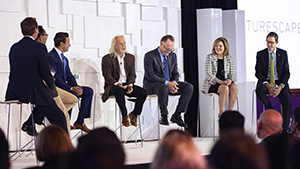 Panel of the Futurescape Forum at GIA's 2018 Symposium