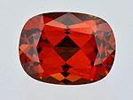 产自坦桑尼亚的 2.54 克拉柘榴石 — 镁铝 - 铁铝榴石(镁铁榴石)