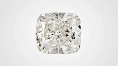 クッションカットの合成ダイヤモンド