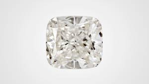Cushion cut synthetic diamond