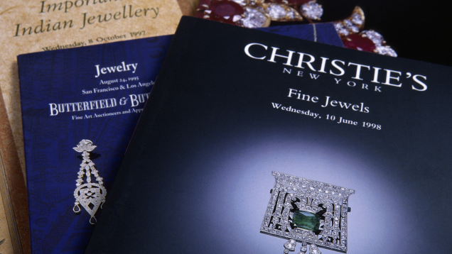 Catalogues from auction houses