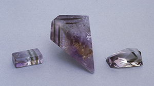Smoky Quartz Ametrine from the Yuruty Mine
