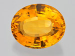 26.57 ct Quartz (Citrine) (Locality not stated)