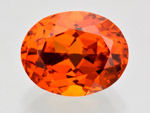 5.13 ct Garnet - Spessartine from Sri Lanka