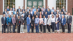 Industry professionals who participated in GIA Global Leadership Program at Harvard