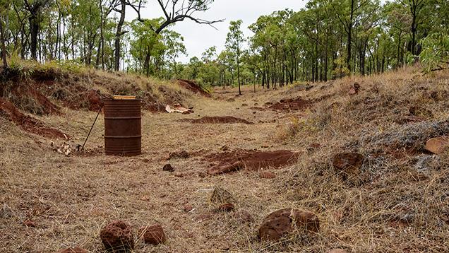 Lava Plains sapphire field