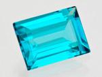 1.80 ct Tourmaline - Elbaite (Indicolite) from Russia