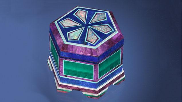 Intarsia Box