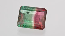 8.58-carat Bicolor Tourmaline