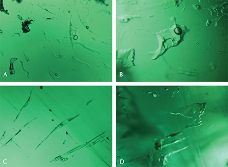 Three-phase inclusions in Musakashi emeralds