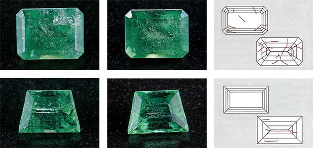 Emeralds Moderate Clarity Enhancement