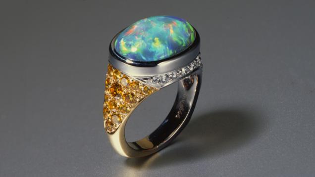 Oval Cabochon Opal