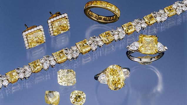 Fancy Color Yellow Diamonds