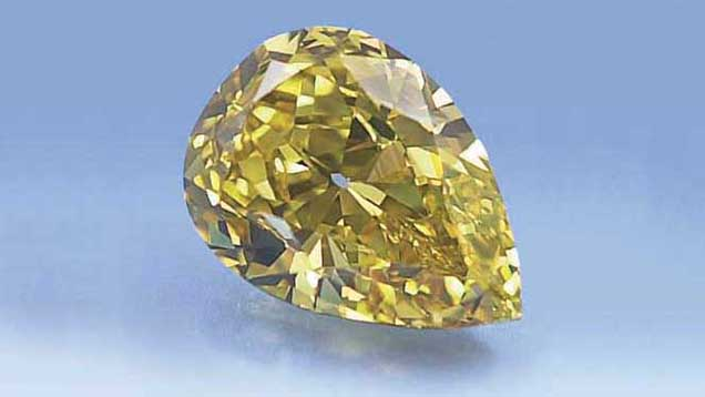 radiant diamond fancy shape clarity brownish deep yellow certified carat gia
