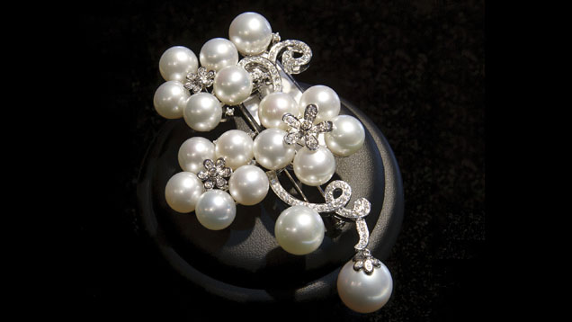 Japanese saltwater cultured pearls