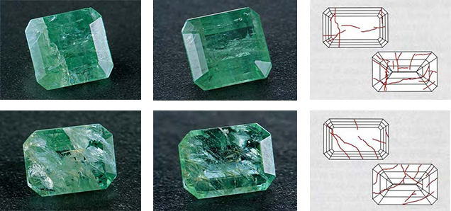 Emeralds Significant Clarity Enhancement