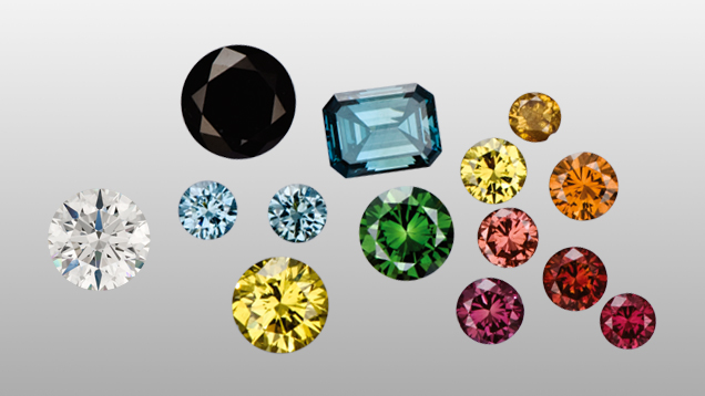 Irradiated Diamonds