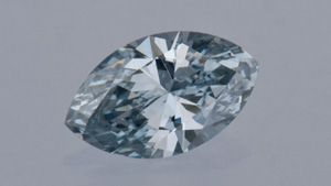 0.49-ct Blue Diamond
