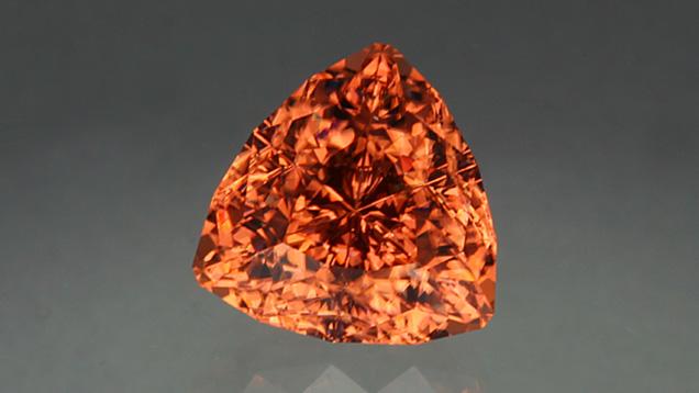12.84-carat Triangular-cut Zircon