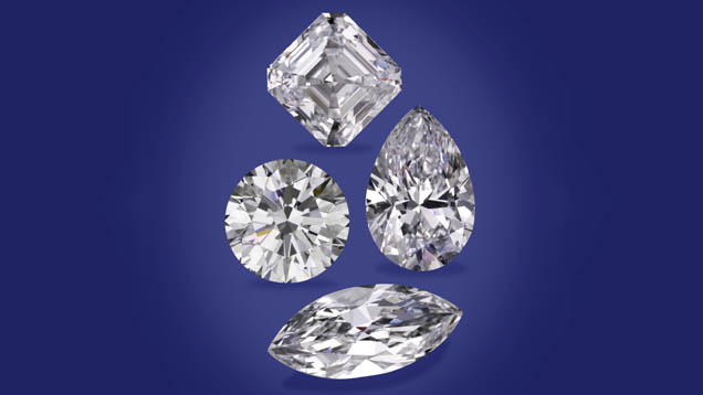 Different Shaped Diamonds