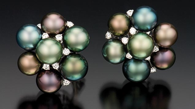 Tahitian saltwater cultured pearls