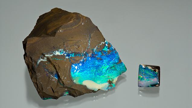 砾岩蛋白石