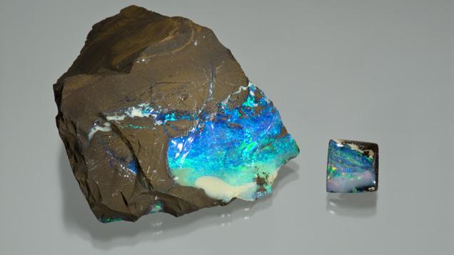 3.47 Carat Boulder Opal Tablet