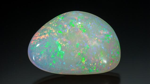 117.85 克拉凸圆形澳大利亚淡色蛋白石