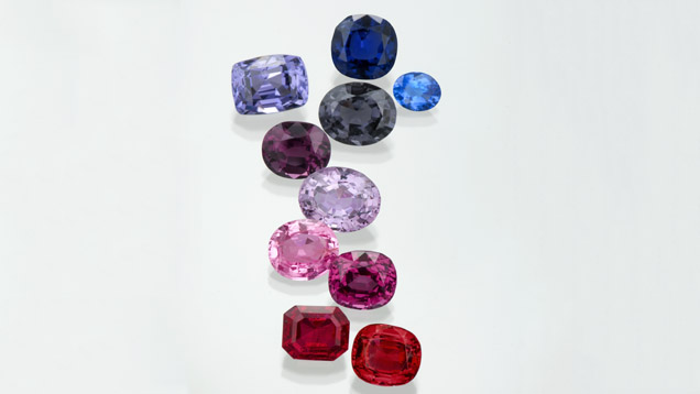 Various Spinel Colors