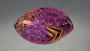 紫黄晶是一种非常精美的宝石,只要能护理的好,可以镶嵌于任何首饰。