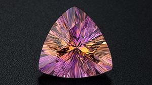 紫黄晶颜色混合