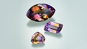 产自玻利维亚 Yuruty 的紫黄晶
