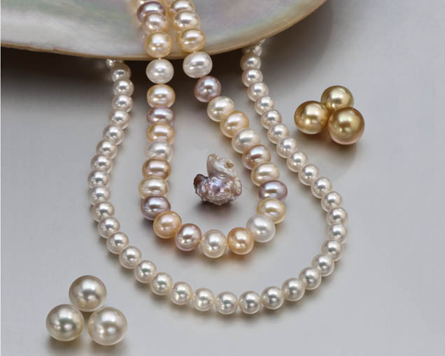 Collection of pearls